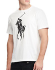 NEW Polo Ralph Lauren Men's Big Pony Cotton T-Shirt Black/White/Red/Navy/Blue