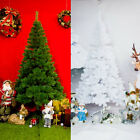 Classy Artificial Christmas Tree Pine Festival Xmas Decor 4ft/5ft/6ft/7ft/8ft US