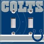 Football Indianapolis Colts Themed  Light Switch Cover Choose Your Cover on eBay