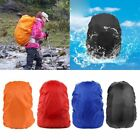 Solid Waterproof Dust Rain Cover For Travel Camping Backpack Rucksack Bag 35-80L