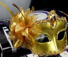 New Venetian Masquerade Lace Women Diamond Flower Mask for Party,Prom,Mardi Gras