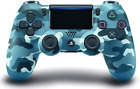 DualShock 4 Wireless Controller For PlayStation 4, PS4 Control, Blue Camouflage