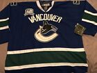 REEBOK NEW MENS NHL VANCOUVER CANUCKS 1 ROBERTO LUONGO hockey Jersey SZ54 56