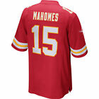 Men's Kansas City Chiefs #15 Patrick Mahomes Red 2018 Football Jersey S-3XL
