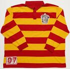 NEW Universal Studios Harry Potter Gryffindor Longsleeve Polo Quidditch Jersey