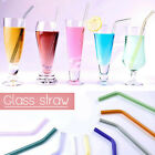Collapsible Reusable Stainless Steel Metal Drinking Straw + Cleaner Case useful