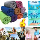 Cold Towel Summer Sports Ice Cooling Towel Hypothermia Cool Towel 90*35CM LI