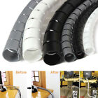 2M Cable Hide Wrap Tube 10/25mm Organizer  Management Wire Spiral Flexible Cord