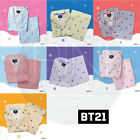 BTS BT21 Official Authentic Goods Check Pajamas Holidays Ver by Hunt innerwear