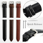 Genuine Leather Wristwatch Band Quick Release Watch Strap For Fossil Q Bands
