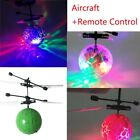 Hand Flying UFO Ball LED Mini Induction Suspension RC Aircraft Flying Toy UK