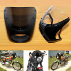 USA 7'' Headlight Retro Cafe Racer Handlebar Fairing Cover Windshield For Harley $37.03 USD on eBay
