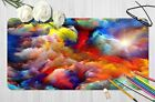 3d Colorful Clouds Sun 77 Non-slip Office Desk Mouse  Keyboard Game