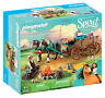 Playmobil Spirit Riding Free Lucky's Dad and Wagon Set 9477