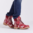 "Timberland Men's Premium LIMITED 6"" Ugly Sweater Boots Christmas Release"