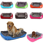 Pet Dog Cat Bed Puppy Cushion House Warm Kennel Sofa Mat Pad Blanket Washable US