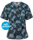 Cherokee Tooniforms Medical Scrubs Star Wars Laser Tag Men's Top Sz XS-XXL NWT $28.45 USD on eBay