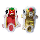 Puppy Dog Pet Shirt Lion Dance Cosplay Costume Dog Cute Jacket Sequins Clothes
