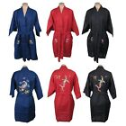 Traditional Chinese Women's Embroidered Phoenix Fenghuang Bird Robe Top New