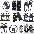 Внешний вид - Non Slip Snow Shoes Boots Cover Step Ice Cleats Spikes Grips Crampons Overshoes