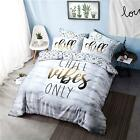 PIERIDAE Elegant Printed Comfy Complete Duvet Reversible Quilt Cover Bedding Set