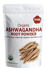 Organic Ashwagandha Root Powder Withania Somnifera Indian Ginseng # 4,8,16 oz #
