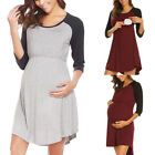 Внешний вид - Pregnant Women Breast feeding Tunic Maternity Nursing T Shirt Blouse Ladies Tops