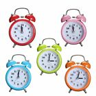 Charminer Portable Fashion Classic Silent Double Bell Alarm Clock Quartz