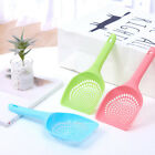 Mesh Scoop Spoon Animal Dry Food Shovel Cleaner Cleaning Tool Litter Pet Hook