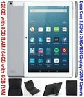 """10.1"""" Tablet PC 128GB + 8GB RAM Deca Core with Keyboard option Android 4G LTE"""