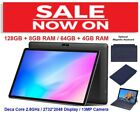 "10.1"" Tablet PC 128GB + 8GB RAM Deca Core with Keyboard option Android 4G LTE"