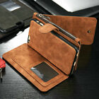 Luxury Leather Fashion Stand Stylish Wallet Card ID Case Cover for Mobile Phone