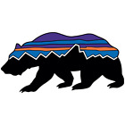 Patagonia Fitz Roy Logo Bear Vinyl Sticker Car Truck Window Decal Laptop Bumper