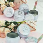 Внешний вид - DIY Candle Making Empty Candle Tin Storage Case Containers Metal Jar, Art New