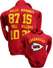 Arrowhead Mafia Hoodie RED Hoody Sweatshirt,Mahomes,Kansas City Chiefs,Jersey $39.99 USD on eBay