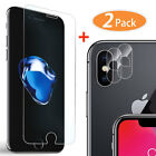 9H Screen Protector + 2x Camera Lens Protector for iPhone 6 6s 6Plus 7 8 Plus