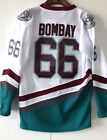 The Mighty Ducks Movie Jersey 96 Charlie Conway 99 Adam Banks 66 BOMBAY 44 Reed <br/> US STOCK, Lightning Fast Shipping From NJ, Sales Price!