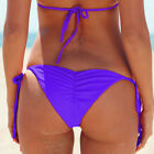 Women Bikini Thong Bottoms Beach Swimwear Brazilian G-String Cheeky Swimsuit O84