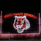 Cincinnati Bengals Football Dual Color LED Neon Sign Light Sign 2 Sizes on eBay