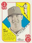 2015 Topps Heritage '51 BLUE BACK MINI Parallel Card You Pick Stars/Rookie