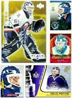 Felix Potvin Hockey Cards **** Pick Your Card **** From The List (1990 To 2018)