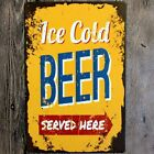 Retro Metal Art Sign Tin Poster Plaque Bar Pub Club Cafe Home Plate Wall Decor