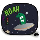Sci-Fi IN TRAFFIC OUTTA THIS WORLD PERSONALISED CAR SUN SHADE Window birthday