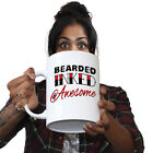 Funny Mugs Beard Inked Awesome Beard Moustache GIANT MUG