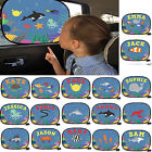 Sunshade Car Sun Shade Mesh Personalised Window Sea Visor kids blind doo doo