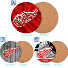 Detroit Red Wings Wood Coaster Coffee Cup Mat Mug Pad Table Decor $4.69 USD on eBay