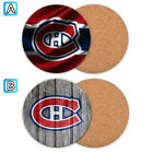 Montreal Canadiens Wood Coaster Coffee Cup Mat Mug Pad Table Decor $3.49 USD on eBay