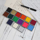 D6EE 15 Colors Durable DIY Craft Oil Based Stamp Ink*Pad Print For Stamps