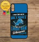 Detroit Lions Phone Case for iPhone Galaxy 5 6 7 8 9 X XS Max XR $14.9 USD on eBay