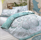 Excellent Quality Celestial Mandala Teal Luxury Duvet Covers Single Double King  image